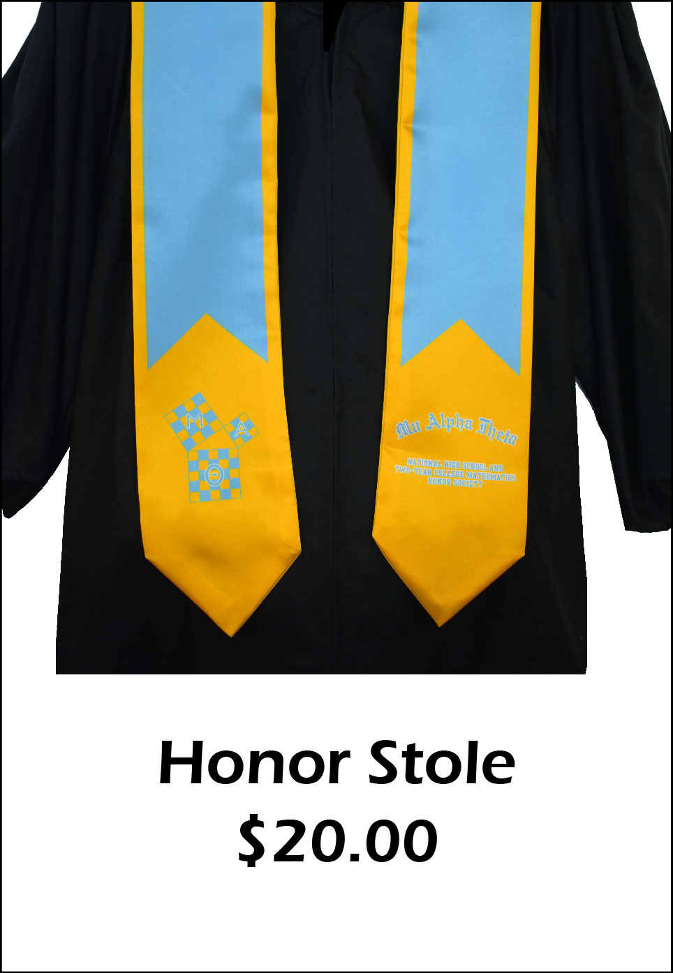 MAT Honor Stole - $20