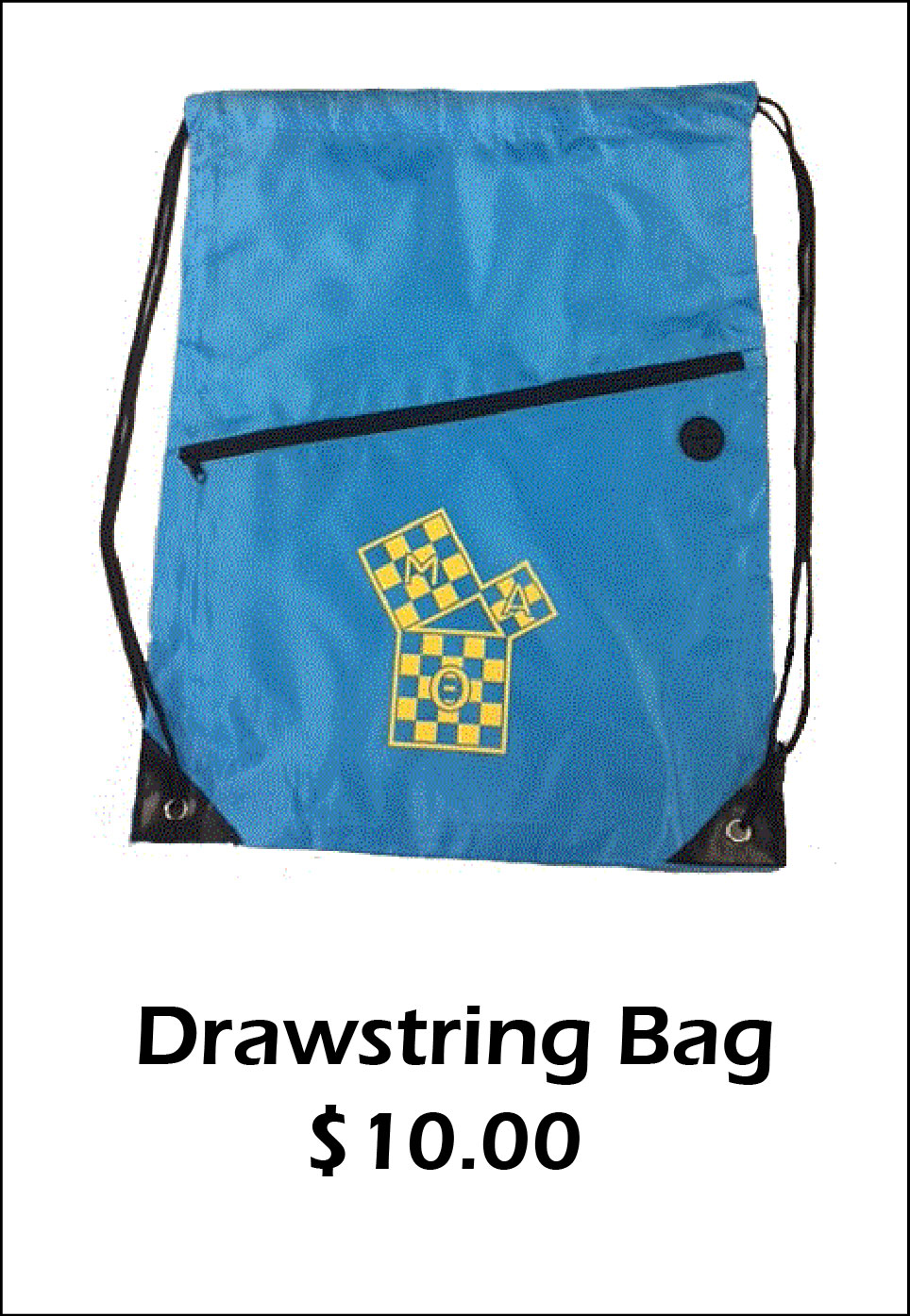 MAT Drawstring Bag - $10